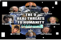 jacob: EVELYN ROTHSCHILD  JACOB ROTHSCHILD  THE 9  HENRY KISSINGER  REAL THREATS  TO HUMANITY  JON UUHITE  DAVID ROCKEFELLER  MIKE LOUE  LARRY SUMMERS  GEORGE SOROS