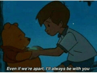 Always Be With You: Even if we're apart, l'll always be with you