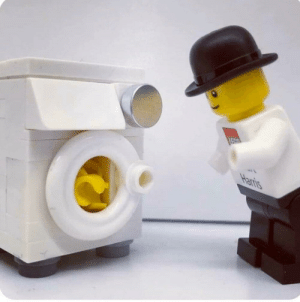 Even LEGO figures can figure it out, so can we. Hands should be washed thoroughly and frequently.: Even LEGO figures can figure it out, so can we. Hands should be washed thoroughly and frequently.