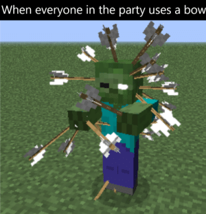 Even the sorcerer was using a bow: Even the sorcerer was using a bow
