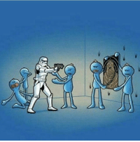 Even troopers could use help from Mr meeseeks! Who else loves Rick and Morty?! starwars rickandmorty season3: Even troopers could use help from Mr meeseeks! Who else loves Rick and Morty?! starwars rickandmorty season3
