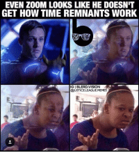 Memes, Tbh, and Lost: EVEN ZOOM LOOKS LIKE HE DOESNIT  GET HOW TIME REMNANTS WORK  IGI BLERD.VISION  @JUSTICE. LEAGUE,MEMES [Follow me at @blerd.vision] I really liked season 2 of The Flash overall - but they lost me with the time remnant plot device tbh. So... by running a few seconds into the past you can create two versions of yourself in the same timeline at the same time... but if it were the same timeline wouldn't that version of yourself then also travel back into the past a few seconds later, thus negating the whole purpose? Or is this creating a splinter timeline and there's a timeline missing a Zoom or Barry every time they create a new time remnant..? Is that why they have to die???? 😩?! TimeTravelProblems - Aqualad