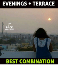 Memes, Best, and Back: EVENINGS TERRACE  BACK  BENCHERS  BEST COMBINATION