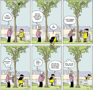 Eventual consistency in comicstrip form: Eventual consistency in comicstrip form