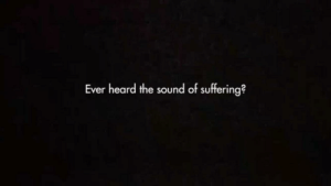 Animals, Click, and youtube.com: Ever heard the sound of suffering? There's this ad going around YouTube and the first thing it plays sounds of animals being slaughtered and imagines to it has given several people panic attacks so if you see this ad click of quick the first seconds of it look like this