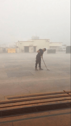 Ever screw up so bad you had to mop rain: Ever screw up so bad you had to mop rain