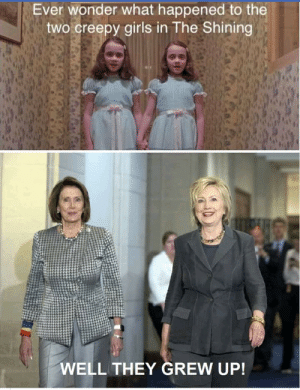 Come Play With Us Donald: Ever wonder what happened to the  two creepy girls in The Shining  WELL THEY GREW UP! Come Play With Us Donald