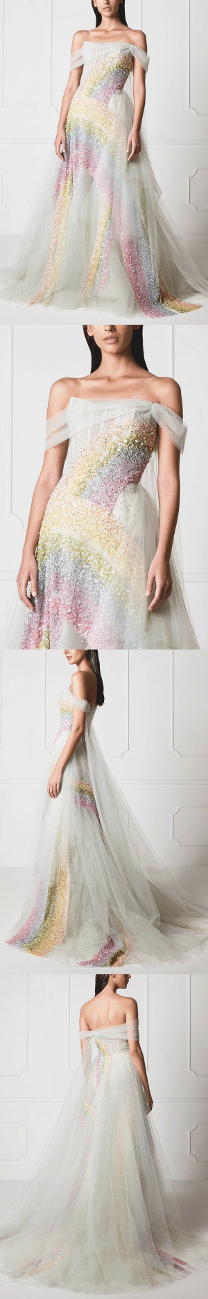 "Fashion, Target, and Tumblr: evermore-fashion:Hamda Al Fahim ""Iris"" Spring 2019 Haute Couture Collection"