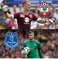 Everton, Memes, and Joe Hart: Everton  1878  SATIS NISI  SOUTH  TORINO  RISO  SUZUKI  Transfer talk  media Southampton want England goalkeeper Joe Hart, 29, amid fears Fraser Forster, 28, will leave for Everton.