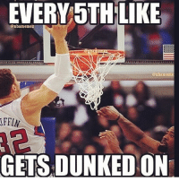 Comment your like number 😂🙏🏽 throwback: EVERY 5TH LIKE  @nbamemez  @nbameme  FFIN  GETS DUNKED ON Comment your like number 😂🙏🏽 throwback