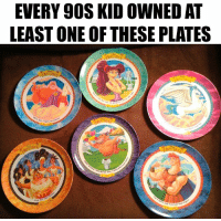 Memes, True, and 90's: EVERY 90S KID OWNED AT  LEAST ONE OF THESE PLATES True