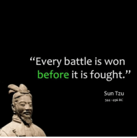 """Prepare the mind and courage will ensue. markiron: """"Every battle is won  before it is fought.""""  Sun Tzu  544-496 BC Prepare the mind and courage will ensue. markiron"""