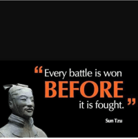Memes, Nothing to Lose, and Sun Tzu: Every battle is worn  BEFORE  it is fought. !5  Sun Tzu Expect to win but be prepared for defeat, and you have nothing to lose; you are dangerous 💯 . markiron