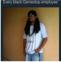 Bailey Jay, Bitch, and Dogs: Every black Gamestop employee  OKE This is in the Bible. I tried getting a job at GameStop for like 2 years and every black guy that works in there has a swag of negative 1000. His name probably Sean he's 28 and still lives with his mom, he's max prestige on every call of duty. he doesn't play 2k but has pornhub premium. He recommends getting a warranty on every used item not knowing you finna return the bitch back before the 7 days is up. Then his manager, name Ryan, 32, lives with his mom and 4 dogs, smells like pepperoni. You can bring 200 games with the 7 dragon balls, the deed to your house and still only get $18.58 in store credit. GameStop childish