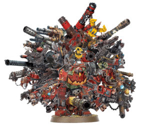 Every day this Ork adds more dakka to his waaagh collection except I skip to day 30 and too lazy to keep going: Every day this Ork adds more dakka to his waaagh collection except I skip to day 30 and too lazy to keep going