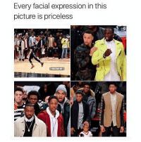 Funny, Memes, and 🤖: Every facial expression in this  picture is priceless  ONBAMEMES Still funny 😂🔥