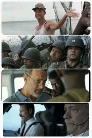 Every few years Tom Hanks Plays a slightly more serious captain.: Every few years Tom Hanks Plays a slightly more serious captain.