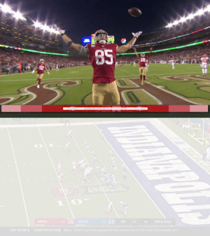 EVERY @gkittle46 career touchdown! What will the @49ers TE do tonight?  📺: #SBLIV | 6:30pm ET on FOX 📱: NFL app // Yahoo Sports app https://t.co/YY1jJYYm7D: EVERY @gkittle46 career touchdown! What will the @49ers TE do tonight?  📺: #SBLIV | 6:30pm ET on FOX 📱: NFL app // Yahoo Sports app https://t.co/YY1jJYYm7D
