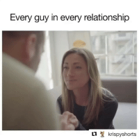 Instagram, Relationships, and Social Media: Every guy in every relationship  t1 krispyshorts We have the one and only @krispyshorts on @girlsgottaeatpodcast this week! 🙌🏻 He gets real about Instagram vs. reality in relationships, is it a red flag if your bf-gf never posts you on social media 😬 and whether or not all guys are commitment-phobes. Listen on iTunes or Spotify (link in bio)! @krispyshorts @girlsgottaeatpodcast