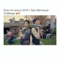 Tumblr, Mannequin, and Epic: Every hit song in 2016 Epic Mannequin  Challenge Whoa Follow @whaociety for more :)) Cred- Sam tsui