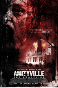 """Memes, House, and Brand New: EVERY HOUSE HAS A HESTORY  THIS ONE HAS A LEGEND  FROM THE PRaoucEROF SPLIT INSIDIOUS ANOTHE PURGE  AMITYVILLE  THE A W A K E N i N G  IN CINEMAS 29 JUN Brand new """"Amityville: The Awakening"""" poster. In theaters this June."""