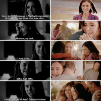 — [4x15-8x16] Elena got everything she wanted imagine thinking I'm not happy for my baby daughter :') ❤ - I made this days ago, no idea why I haven't posted it before 🙊 ic: Tumblr: Every inch of this house is filled with memories  of the people that I love that have died...  My mom, my dad...  And Jenna...  John, even John.  mean, they re all dead. Everyone is dead.  NSTA GRAM — [4x15-8x16] Elena got everything she wanted imagine thinking I'm not happy for my baby daughter :') ❤ - I made this days ago, no idea why I haven't posted it before 🙊 ic: Tumblr