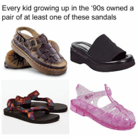 Sandals: Every kid growing up in the '90s owneda  pair of at least one of these sandals