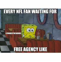 Fr I've been slacking on the memes but on March 9th it's gonna be popping again @funniestnbamemez: EVERY NFL FAN  WAITING FOR  @FUNNIESTNFLMEMES  FREE AGENCY LIKE Fr I've been slacking on the memes but on March 9th it's gonna be popping again @funniestnbamemez