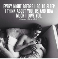Tag your love ❤️: EVERY NIGHT BEFORE I GO TO SLEEP  I THINK ABOUT YOU, US AND HOW  MUCH I LOVE YOU  Instagram- Lovers.Empire Tag your love ❤️