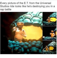 Meme, Memes, and Rap: Every picture of the E.T. from the Universal  Studios ride looks like he's destroying you in a  rap battle Good morning meme fans ❤️💙