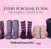 Today, we're Thankful for Boots! Come shop our Boot Sale at The Breast Cancer Site! Purchases fund mammograms, research & care for women in need!  ★SHOP NOW★ http://po.st/g1dYYa: EVERY PURCHASE FUNDS  mammograms, research & care  TheBreast Cancer Site  .compone Today, we're Thankful for Boots! Come shop our Boot Sale at The Breast Cancer Site! Purchases fund mammograms, research & care for women in need!  ★SHOP NOW★ http://po.st/g1dYYa