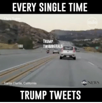 Abc, America, and Facebook: EVERY SINGLE TIME  TRUMP  TWEBBERALS  Santa Clarita, California  abc  NEWS  TRUMP TWEETS Trump knows how to stir the pot, that's for sure 😂 trumptweet twitter tweet trumpmemes liberals libbys democraps liberallogic liberal maga conservative constitution presidenttrump resist thetypicalliberal typicalliberal merica america stupiddemocrats donaldtrump trump2016 patriot trump yeeyee presidentdonaldtrump draintheswamp makeamericagreatagain trumptrain triggered CHECK OUT MY WEBSITE AND STORE!🌐 thetypicalliberal.net-store 🥇Join our closed group on Facebook. For top fans only: Right Wing Savages🥇 Add me on Snapchat and get to know me. Don't be a stranger: thetypicallibby Partners: @theunapologeticpatriot 🇺🇸 @too_savage_for_democrats 🐍 @thelastgreatstand 🇺🇸 @always.right 🐘 @keepamerica.usa ☠️ @republicangirlapparel 🎀 @drunkenrepublican 🍺 TURN ON POST NOTIFICATIONS! Make sure to check out our joint Facebook - Right Wing Savages Joint Instagram - @rightwingsavages