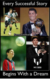 The very best start from the bottom.: Every Successful Story  Funny Football  MESSi  Begins With a Dream The very best start from the bottom.