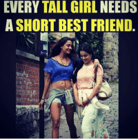 Double Tap if you've them 😘 TAG your best friends ❤️ Bff Stories . ➡️ @ommy_007: EVERY TALL GIRL NEEDS  A SHORT BEST FRIEND Double Tap if you've them 😘 TAG your best friends ❤️ Bff Stories . ➡️ @ommy_007
