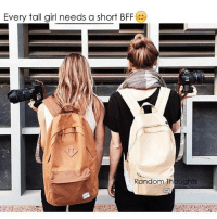 Funny, Bff, and Tall Girls: Every tall girl needs a short BFF  Random Thoughts