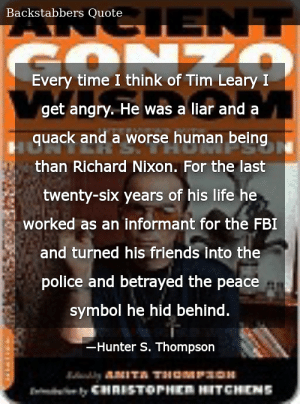 Timothy Leary Quotes 3