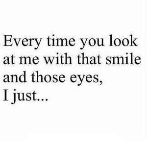 https://iglovequotes.net/: Every time you look  at me with that smile  and those eyes,  I just... https://iglovequotes.net/
