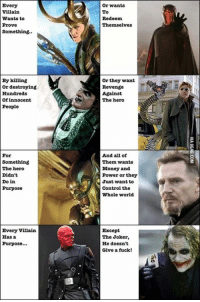 """It's not about the money, its about sending the message"" View comments > http://9gag.com/gag/a8WMyNQ?ref=fbp  More fun on Android: http://9gag.com/android and iPhone/iPod/iPad: http://9gag.com/iphone: Every  Villain  wants to  Prove  Something..  By killing  or destroying  Hundreds  of innocent  People  For  Something  The hero  Didn't  Do in  Purpose  Every villain  Has a  Purpose...  wants  To  Redeem  Themselves  or they want  Revenge  Against  The hero  And all of  Them wants  Money and  Power or they  Just want to  Control the  Whole world.  Except  The Joker,  He doesn't  Give a fuck! ""It's not about the money, its about sending the message"" View comments > http://9gag.com/gag/a8WMyNQ?ref=fbp  More fun on Android: http://9gag.com/android and iPhone/iPod/iPad: http://9gag.com/iphone"