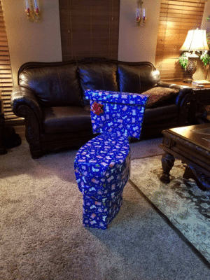 Christmas, Funny, and Christmas Present: Every year I try to disguise my sisters Christmas present. This year I think I went a little too far via /r/funny https://ift.tt/2zDZn85