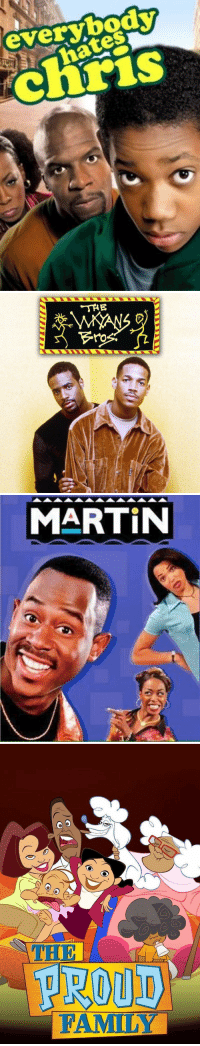Family, Martin, and Netflix: everybody  IS   THE  ro   MARTIN   O O  PROUD  FAMILY A few shows Netflix still needs to add 🍿👀 https://t.co/Q36jo4Zs4x