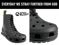 Dank, God, and 🤖: EVERYDAY WE STRAY FURTHER FROM GOD  crod  Marten2 when you combine your younger years with your older years