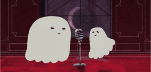 everydaylouie:happy halloween! here is a ghost duet: everydaylouie:happy halloween! here is a ghost duet