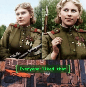 Roza Shanina, the 19 year old Sovjet sniper who killed 64 Nazis during WW2: Everyone 1iked that Roza Shanina, the 19 year old Sovjet sniper who killed 64 Nazis during WW2