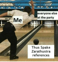 """<p>Does this have any good potential? via /r/MemeEconomy <a href=""""http://ift.tt/2CcOiL6"""">http://ift.tt/2CcOiL6</a></p>: everyone else  at the party  Me  28 29  Thus Spake  Zarathustra  references <p>Does this have any good potential? via /r/MemeEconomy <a href=""""http://ift.tt/2CcOiL6"""">http://ift.tt/2CcOiL6</a></p>"""