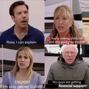 everyone else gets financial support: everyone else gets financial support