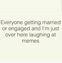 Well if this isn't me idk what is. (@1foxybitch) Follow @1foxybitch @1foxybitch: Everyone getting married  or engaged and I'm just  over here laughing at  meme Well if this isn't me idk what is. (@1foxybitch) Follow @1foxybitch @1foxybitch