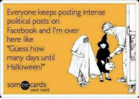 facebook halloween and memes everyone keeps posting intense posts on facebook and i