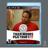 Memes, Tiger, and 🤖: EVERYONE  @RotoWear  KAPPA  TIGER Woops  PGA TOUR 17  Roto Wear com  ROTO  WEAR only Sunny fans will understand