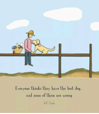 Best, Dog, and Them: Everyone thinks they have the best dog..  and none of them are wrong  MR. Purche