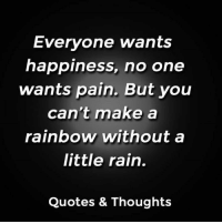 Everyone Wants Happiness No One Wants Pain But You Cant Make A